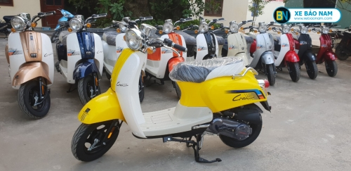 Xe ga 50cc Crea New 2020 màu vàng