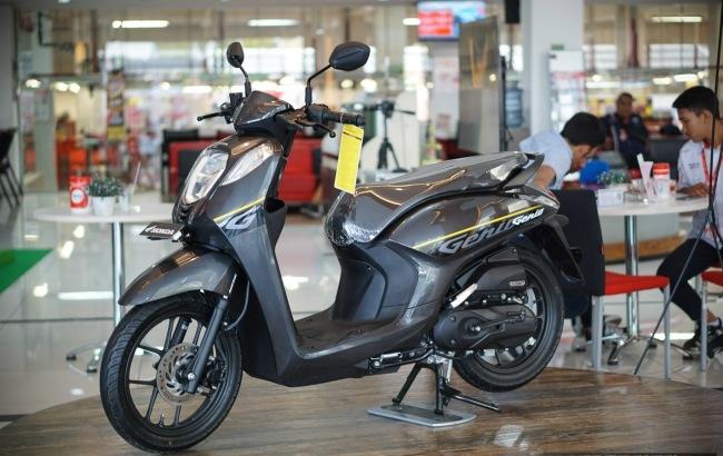 Xe máy Honda Genio 110cc màu đen