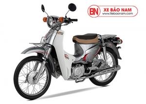Xe cub New 50 màu bạc
