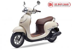Xe ga 50cc Honda Giorno Nhật Bản Nhập khẩu màu kem