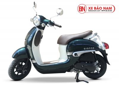 Xe ga 50cc Honda Giorno Nhật Bản Nhập khẩu Xanh
