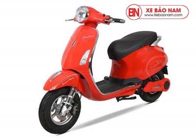 Xe máy điện Vespa Osakar Nispa màu đỏ