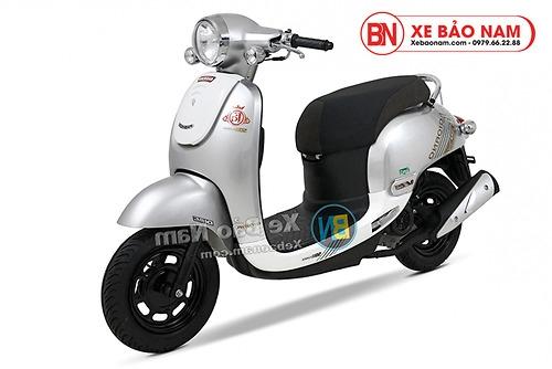 Xe ga 50cc Giorno 2 (Tem chìm) 2019 màu bạc