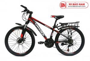 Xe đạp Amano T180T màu đen đỏ