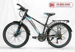 Xe đạp JVC Eco Mới nhất màu đen xanh