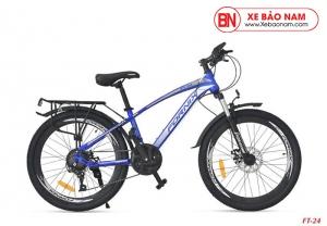 Xe đạp thể thao Fornix FT24 Mới nhất màu xanh dương