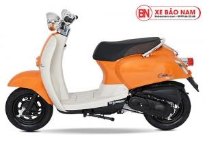 Xe ga 50cc Crea màu cam 2019 new