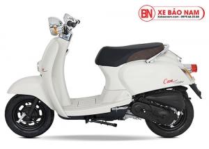 Xe ga 50cc Crea màu trắng đục new
