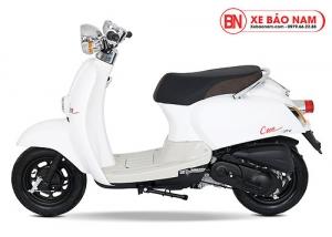 Xe ga 50cc Crea màu trắng new