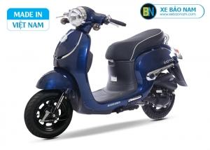 Xe ga 50cc Giorno tem nổi - Màu xanh đậm