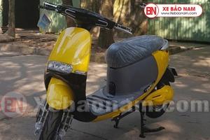 Xe máy điện gogo detech màu vàng