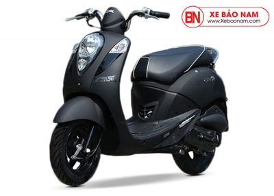 Xe ga 50cc Elite chính hãng Sym - Màu Đen Nhám