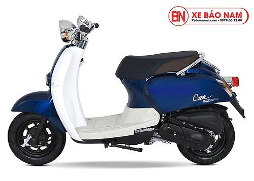 Xe ga 50cc Crea màu xanh New