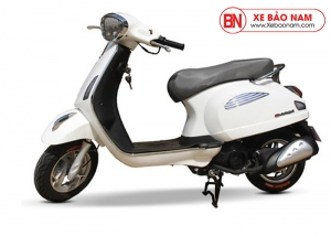 Xe ga 50cc Roma SE Dk bike màu trắng
