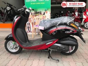 Xe ga 50cc Elite chính hãng Sym ( Đỏ đen )