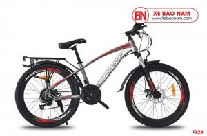 Xe đạp thể thao Fornix FT24 màu đỏ trắng