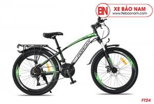 Xe đạp thể thao Fornix FT24 màu xanh