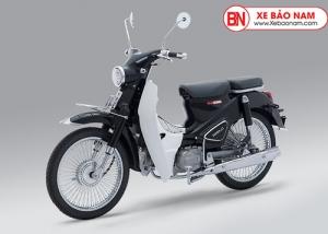 Xe máy Cub Classic 110cc Thailan Đen Bóng (Có Săm)