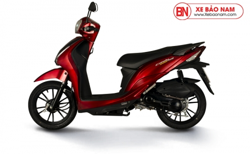 Xe máy Kymco Candy Hermosa 50cc Đỏ Mận