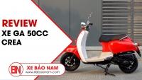 Xe ga Crea 50cc học sinh 2019  ► Trải nghiệm 1 ngày cùng bạn Sinh Viên (4K)