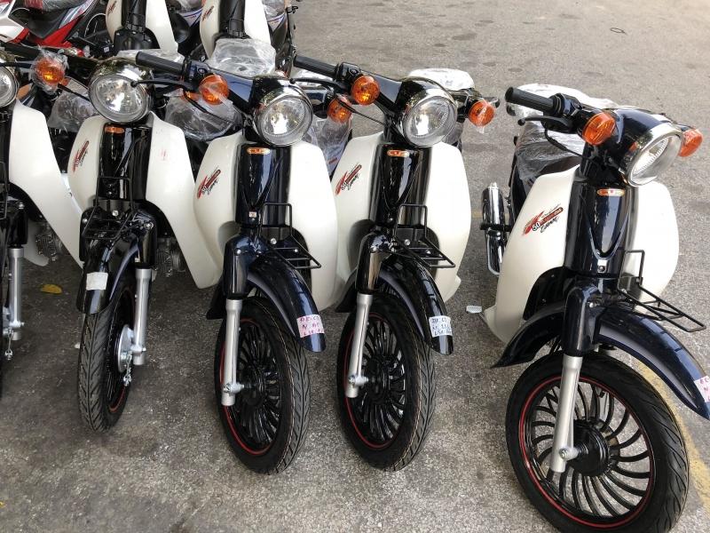 Xe máy Cub 50cc 2018 (Bản đặc biệt) ► Cập nhật màu Xe và đặc biệt vành đúc 14 inch