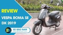 Xe máy điện Vespa Roma SE DK 2019| giá 14.000.000đ ► Cải tiến hoàn toàn kiểu dáng sành điệu(HD)