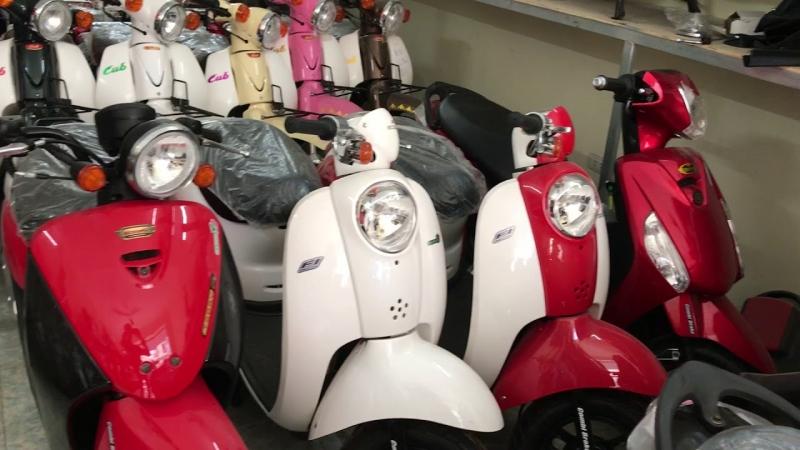 Xe ga 50cc Scoopy, Today, Giorno ► Đời mới nhất .Lh: 0979662288