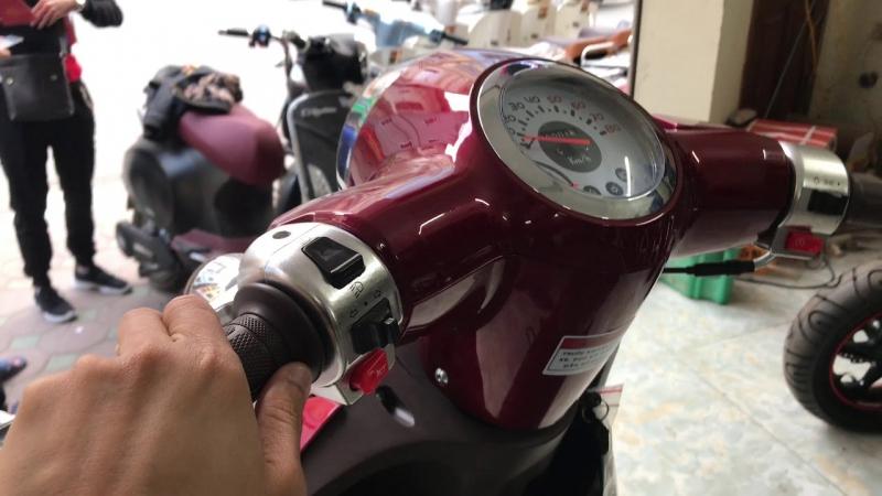 Xe ga Giorno 50cc màu mới Đỏ Mận ► Giá 14.800.000đ tốt nhất Việt Nam.