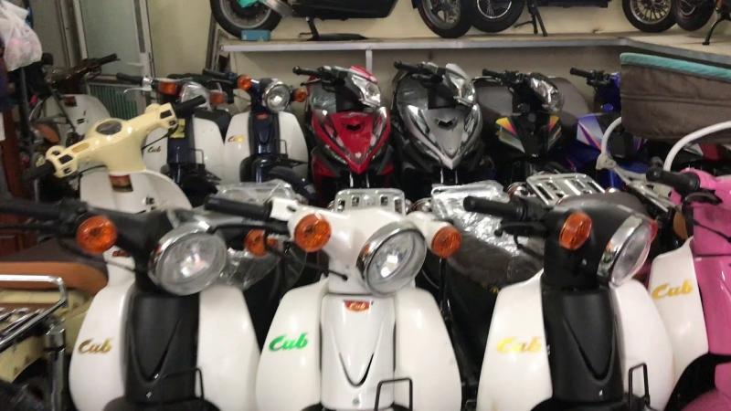 Cập nhật Xe Giorno 50cc, Cub 50cc, Exciter 50cc giá tốt nhất tại Hà Nội