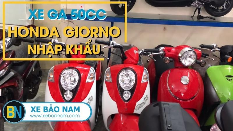 Xe ga 50cc Honda Giorno Nhập Khẩu đời mới nhất giá gần 70 triệu