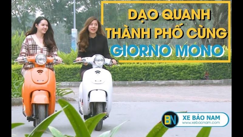 Xe ga 50cc Giorno Mono Phanh Đĩa| Giá 18.000.000đ ► Học sinh 15 tuổi chạy rất tốt(HD)