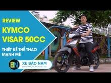 Đánh giá Xe Kymco Visar 50cc với giá hơn 16 triệu đồng