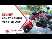 Đánh Giá Xe Máy MSX 110cc Mới Nhất Kiểu Dáng Honda MSX 125cc | Xe Bảo Nam