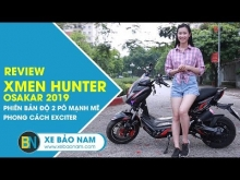 XMEN HUNTER OSAKAR 2019 ĐỘ 2 PÔ