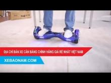 Review Xe Điện Cân Bằng 2 bánh đời mới nhất 2017 chính hãng giá rẻ nhất Việt Nam.