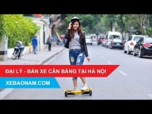 Nhà phân phối xe điện cân bằng 2 bánh chính hãng giá tốt nhất Hà Nội.