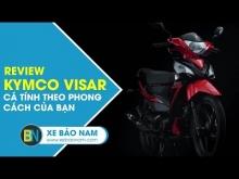 KymCo Visar - Phong cách cá tính