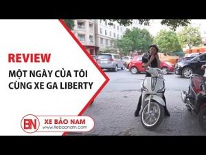 Một Ngày Của Tôi Cùng Xe Ga 50cc Liberty | Xe Bảo Nam