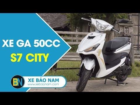 Xe Ga 50cc S7 (City) Giá Chỉ Từ 15 Triệu Đồng