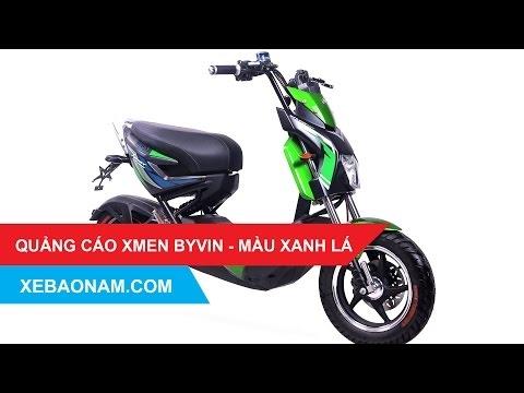 Quảng cáo xe máy điện XMEN 2017