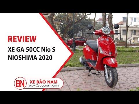 Một vòng Hà Nội với Xe Ga 50cc Nio S chính hãng Nioshima 19.500.000đ ► Xe ga kiểu dáng đẹp học sinh