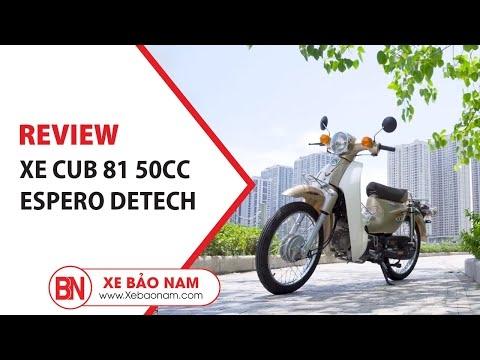 Xe Cub 81 Espero Detech 2020 GIÁ TỐT 13.000.000đ (KHÔNG CẦN BẰNG LÁI PHÙ HỢP HỌC SINH) | Xe Bảo Nam