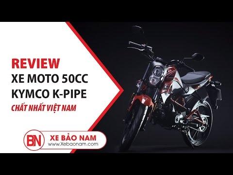 KYMCO K-PIPE 50cc 2019 (Moto 50cc) ► Độc đáo cá tính giá hơn 20 triệu