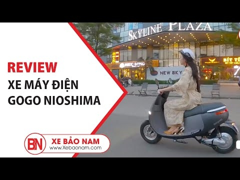Review Xe Máy Điện Gogo Nioshima Phong Cách Mới Lạ ▶️ GIÁ 13.500.000 đ