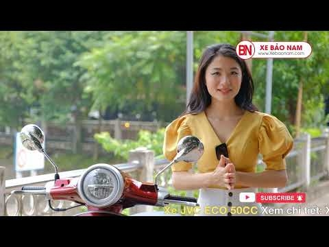 Lên Dốc Hầm Ngã Tư Sở Cùng Xe Ga 50cc Jvc Eco Giá 20.900.000đ | Xe Bảo Nam