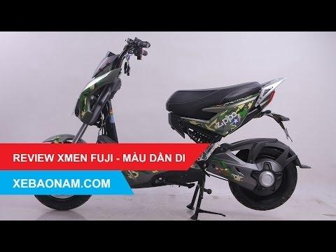 Đánh giá Xe máy điện XMEN FUJI 2017 - Màu dằn di - có bán Trả Góp - giá rẻ nhất Việt Nam.