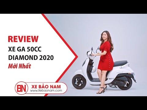 REVIEW XE GA 50CC DIAMOND 2019 MỚI NHẤT