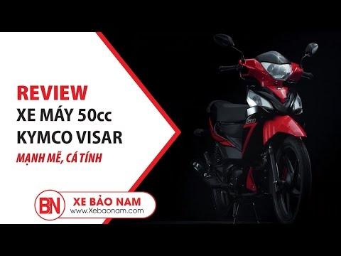 KYMCO VISAR 50cc ► Xe số 50cc học sinh bền bỉ tiết kiệm thời trang