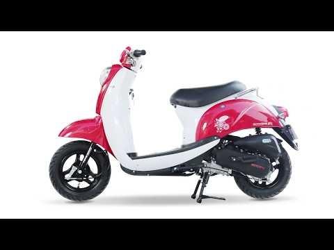 Xe ga 50cc Scoopy ► Video 360 độ vs Màu Xe