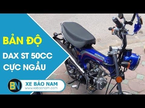 Xe máy Dax St 50cc mới 100% ► Độ cực ngầu của khách hàng tại Xe Bảo Nam